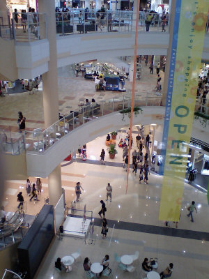 Opening week at AEON Jusco