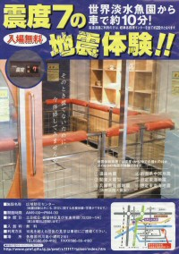 The Earthquake simulator!