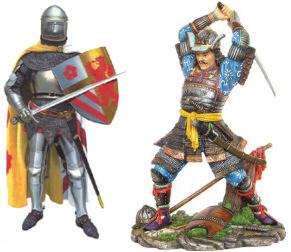 Knight versus Samurai