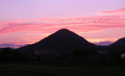 Kakamigahara sunset